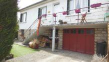210401/JC A 5 min  de VERDUN, agrèable maison F3/4 avec garage et jardin